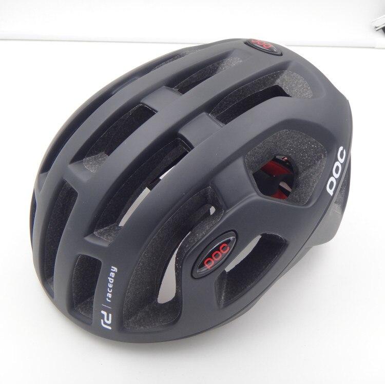 Poc Raceday Road Helm Fietsen Eps Mannen Vrouwen Ultralight Mtb Mountainbike Comfort Veiligheid Cyclus Fiets Maat L: 54-61