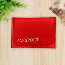 PU Leather Passport Covers Travel Accessories Holder ID Bank Card Bag Fashion Men Women Passport Business Wallet Case(China)