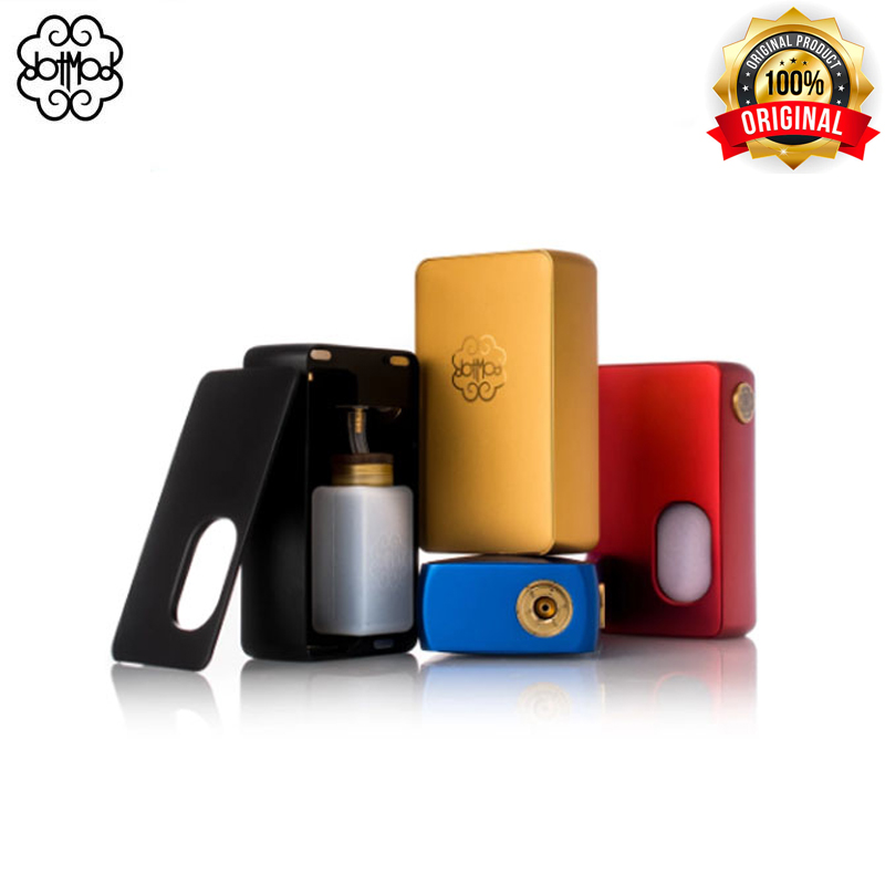 Original DotSquonk Dotmod Mechanical Mod Powered By 20700 Or 18650 Batteries Electronic Cigarettes Mech Mod Fit DotRDA24 510
