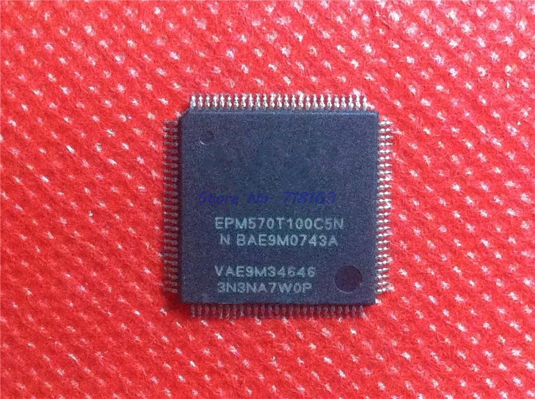 1pcs/lot EPM570T100C5N EPM570T100C5 TQFP-100
