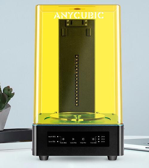 Anycubic Cure Uv E Box di Lavaggio per Photon Photon-S Tutti I Raggi Uv Lcd/Pla/Sla 3D Stampante modello di Elaborazione Cura & Wash Due in Uno
