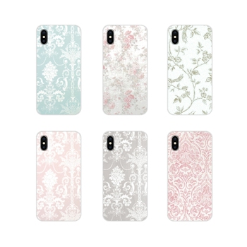 Laura Ashley Josette Accessories Phone Shell Covers For Apple iPhone X XR XS 11Pro MAX 4S 5S 5C SE 6S 7 8 Plus ipod touch 5 6 image