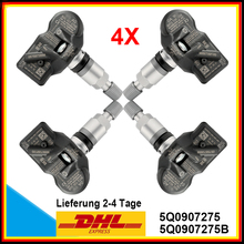 4pcs New TPMS RDKS RDK sensor for Audi Skoda VW Porsche Bentley 5Q0907275, 5Q0907275B