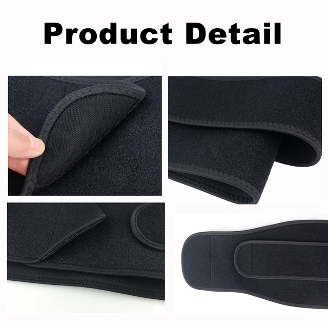 Adjustable Fitness Training Belt Sweat-Absorbent Breathable Sports Belt Waist Support Neutral Body Shaping Warm Waist Protector 4