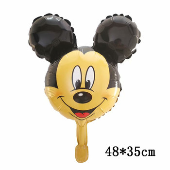 Giant Mickey Minnie Mouse Balloons Disney cartoon Foil Balloon Baby Shower Birthday Party Decorations Kids Classic Toys Gifts 14