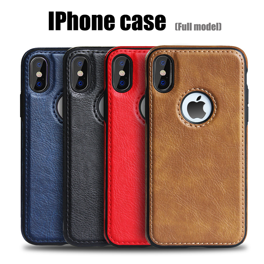 Slim PU Leather Case For IPhone 11pro XS Max XR Ultra Thin Phone Cases Cover For Iphone X 8 7 Plus 6 6s Plus Case Accessories