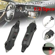 Plug-Connector Car-Cigarette-Lighter-Socket High-Power Indicator-Light 12V Male