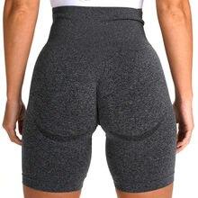Leggings courts de gymnastique sans couture pour femmes, Shorts de Sport, d'entraînement, de Fitness, de Yoga, d'été, taille haute, résistants aux squats