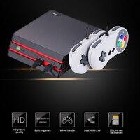 Портативная ТВ-видео игровая консоль HDMI/AV консоль 64 бит, встроенная в 600 Классическая Семейная Игра, видео-игры, ретро игровая консоль, подде...