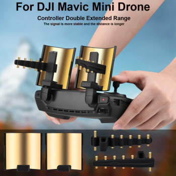 4pcs Increase Signal By 50% Remote Control Signal Extender Amplifier Antenna Range Booster for Dji Mavic Mini /mavic 2pro Access