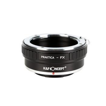K&F Concept Camera Lens Adapter Ring for Praktica B (PB) Lens to Fujifilm X X100 A2/X-A1/X-E1/X-E2/X-M1 X-Pro1 Pro2 X-S1 Camera godox ving v860ii f ttl flash light speedlite bowens s type bracket for fujifilm fuji x pro2 x pro1 x t10 x t20 x t2 x t1 x100f