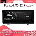 Android 10 Автомобильный мультимедийный DVD стерео радио плеер GPS навигация Carplay авто для Audi Q5(2018-today) 2din