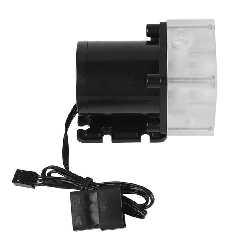 12V 0.8A 10W G1/4 Thread Low Noise Water Pump for CPU PC Computer Cooling System 6