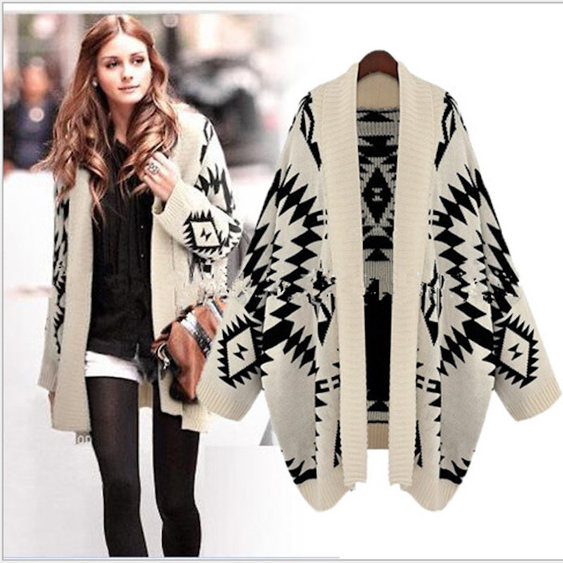 Women/'s Loose Cardigan Jacket Batwing Open Front Cape Long Coat Spring Outerwear