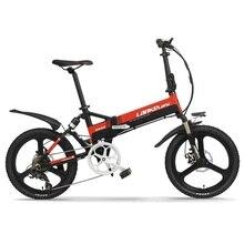 """Велосипед европейского стандарта 2"""" складной электрический G550-S 400W 48v двигатель 13AH L G Батарея с задней подвески"""