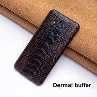 Ostrich Skin Phone Case For Huawei P10 P20 Mate 20 10 9 Pro Lite case Soft TPU Edge Cover For Honor 8X Max 9 10 Nova 3 3i lite