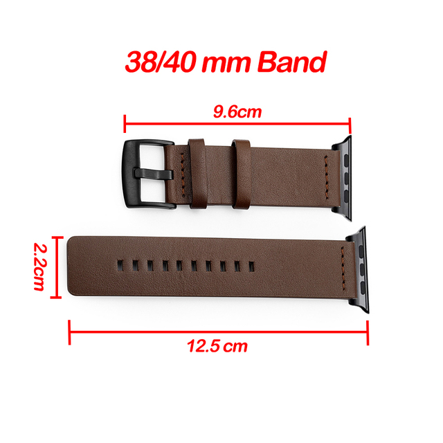 Genuine Leather Band for Apple Watch 4