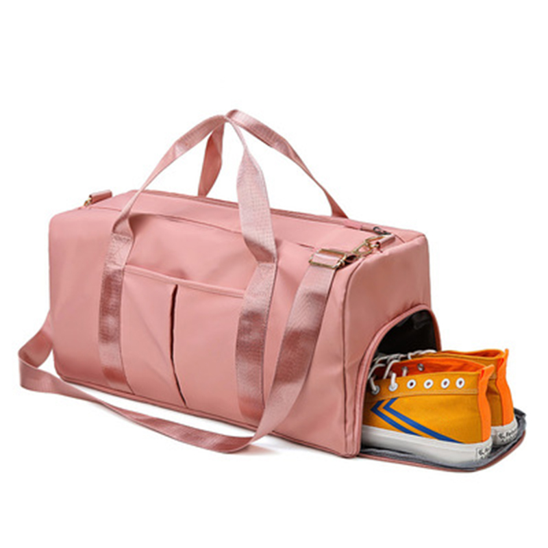 Men Women Training Fitness Travel Handbag Outdoor Waterproof  Sports Gym Bags Dry Wet Separated Sport Bag With Shoes Compartment