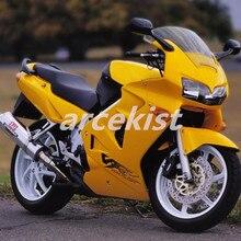 ABS Популярные обтекатель для Honda VFR800 98 99 00 01 VFR 800 RR VFR800RR 1998 1999 2000 2001 Aftermarket мотоцикл обтекатель