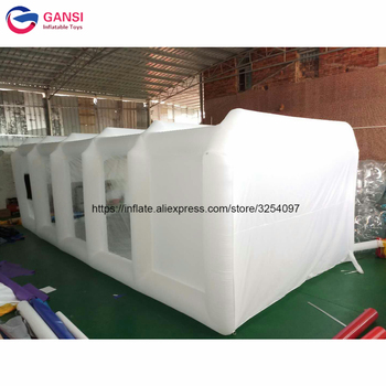 Free Shipping inflatable spraying paint booths inflatable spray booth tent with painting room hot selling paint booth inflatable portable paint booth inflatable car tent inflatable spray booth for car tent toys
