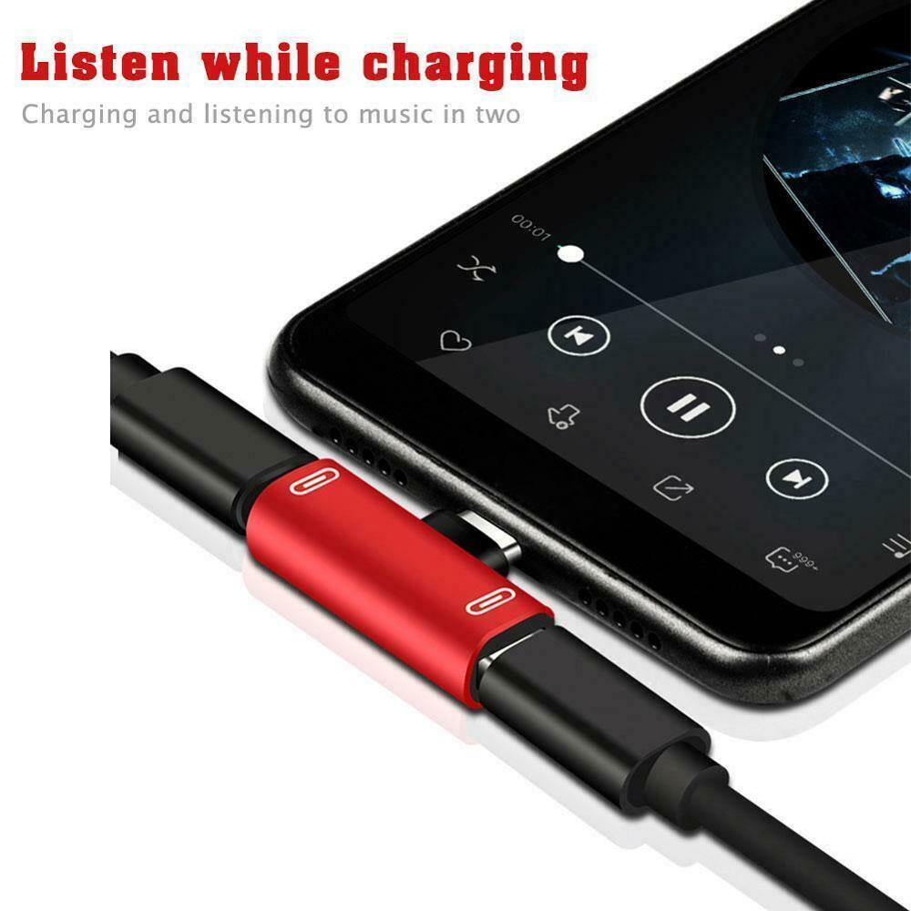 Type C To Type-C Audio Converter Charger Adapter For Huawei P30 P20 Pro Xiaomi Mi 8 6 Samsung S8 S9 Plus 3.5mm Headphone Adapter