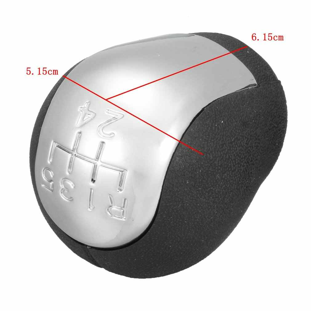 5 botão do deslocamento de engrenagem da velocidade para o cromo opel vauxhall vectra c e b astra g combo