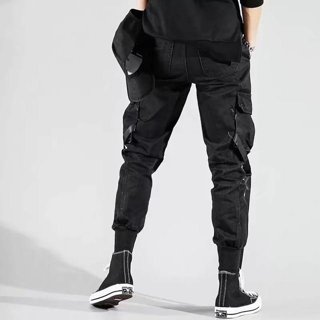 Мужские штаны с боковыми карманами  3