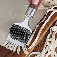 Spaetzle Makers Нескользящая ручка Кухонные гаджеты нож для резки лапши ручная секция шалот резак прессовочная машина Кухонные гаджеты