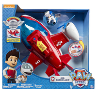 Paw Patrol Juguetes Music Rescue Aircraft Toy Patrulla Canina Robot Dog ABS Action Figure Kids Toys for Children Gifts 2S45