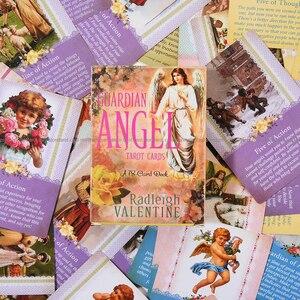 Image 5 - を守護天使タロットカード 78 カードデッキと electronicguidebook カードゲームおもちゃ