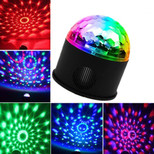 LED Disco Stage Lights 9W Sound-Controlled DISCO Speaker Lights Laser Projector Stroboscope Professional Lighting Stage Lights cheap NoEnName_Null Stage Lighting Effect Mini 100-240V Home Entertainment 650nm (Red) 530nm (Green) 470nm (Blue) 150 degree