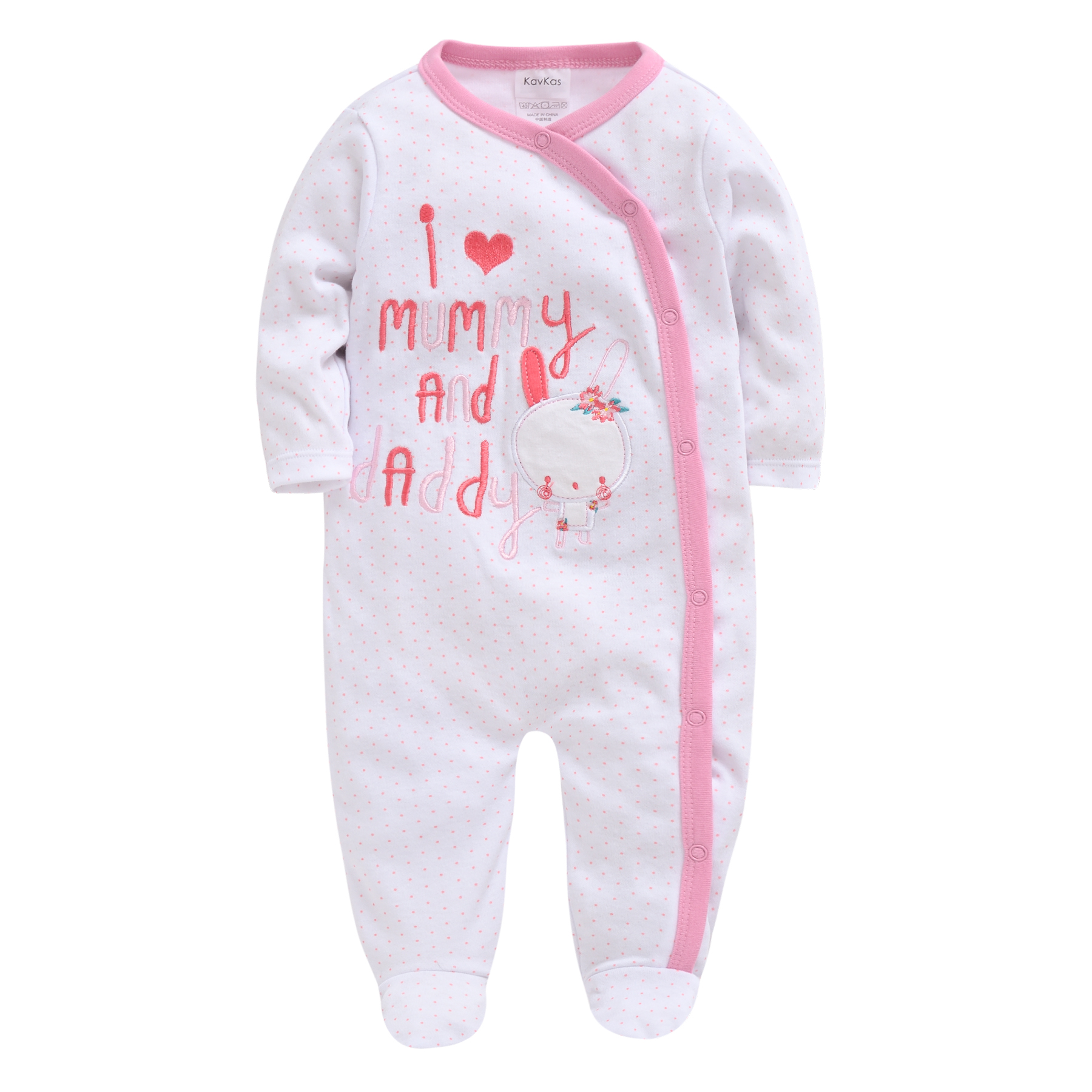 2019 0-12M Newborn Baby Girl Clothes Cute Cartoon Printed Infant Baby Rompers Jumpsuit Fashion New Toddler Baby Outfits Clothes