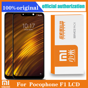 "Image 1 - 2246*1080 الأصلي 6.18 ""ل شاومي Poco F1 LCD تعمل باللمس محول الأرقام الجمعية ل Mi Pocophone F1 عرض استبدال"