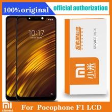 "2246*1080 Original 6.18 ""สำหรับXiaomi Poco F1 LCD Touch Screen Digitizer AssemblyสำหรับMi Pocophone F1จอแสดงผลเปลี่ยน"