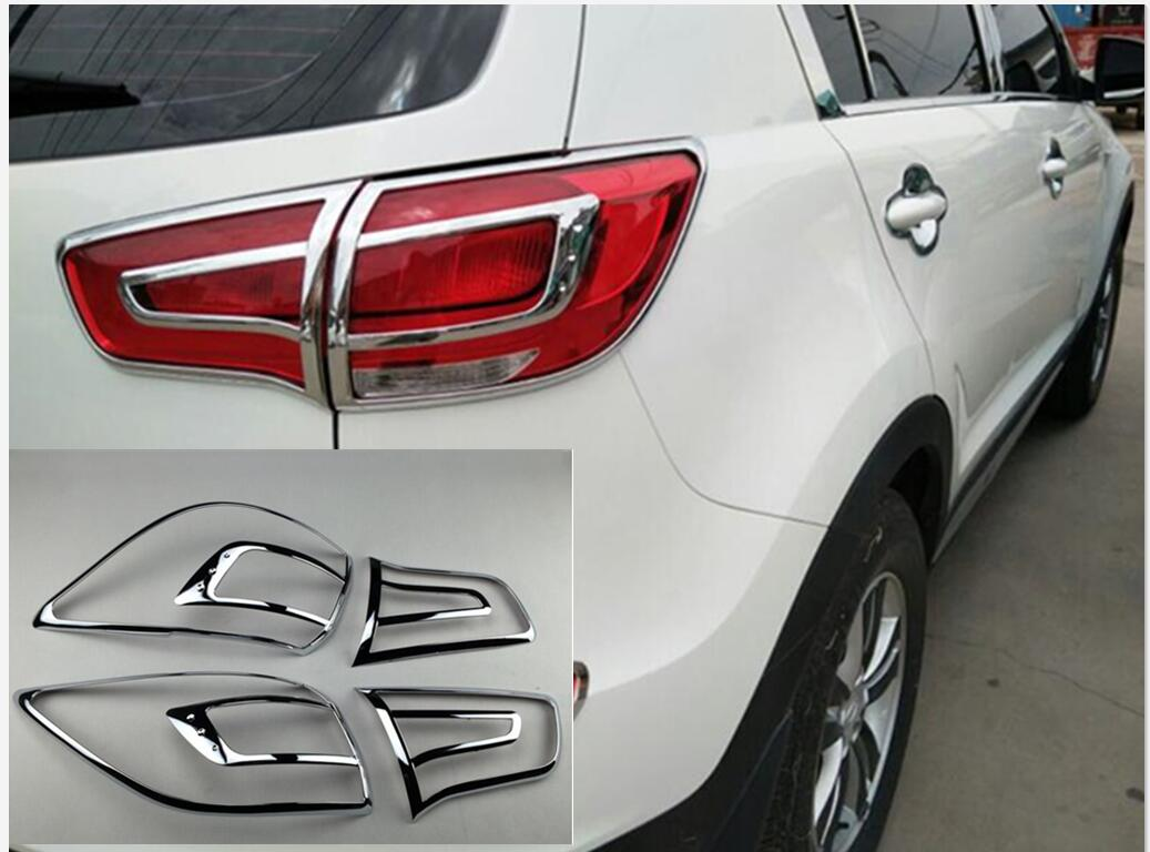 Non LED indicator For Kia Sorento 2010-2014 Chrome Wing Mirror Cover Trim Set