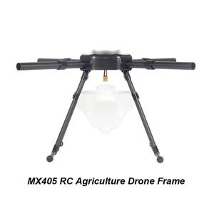 "Image 4 - 1 סט MX405 RC חקלאות Drone 3K פחמן סיבי בסיס מסגרת מארז מתלה 5L רפואה תיבת מל""ט צמח אביזרים"