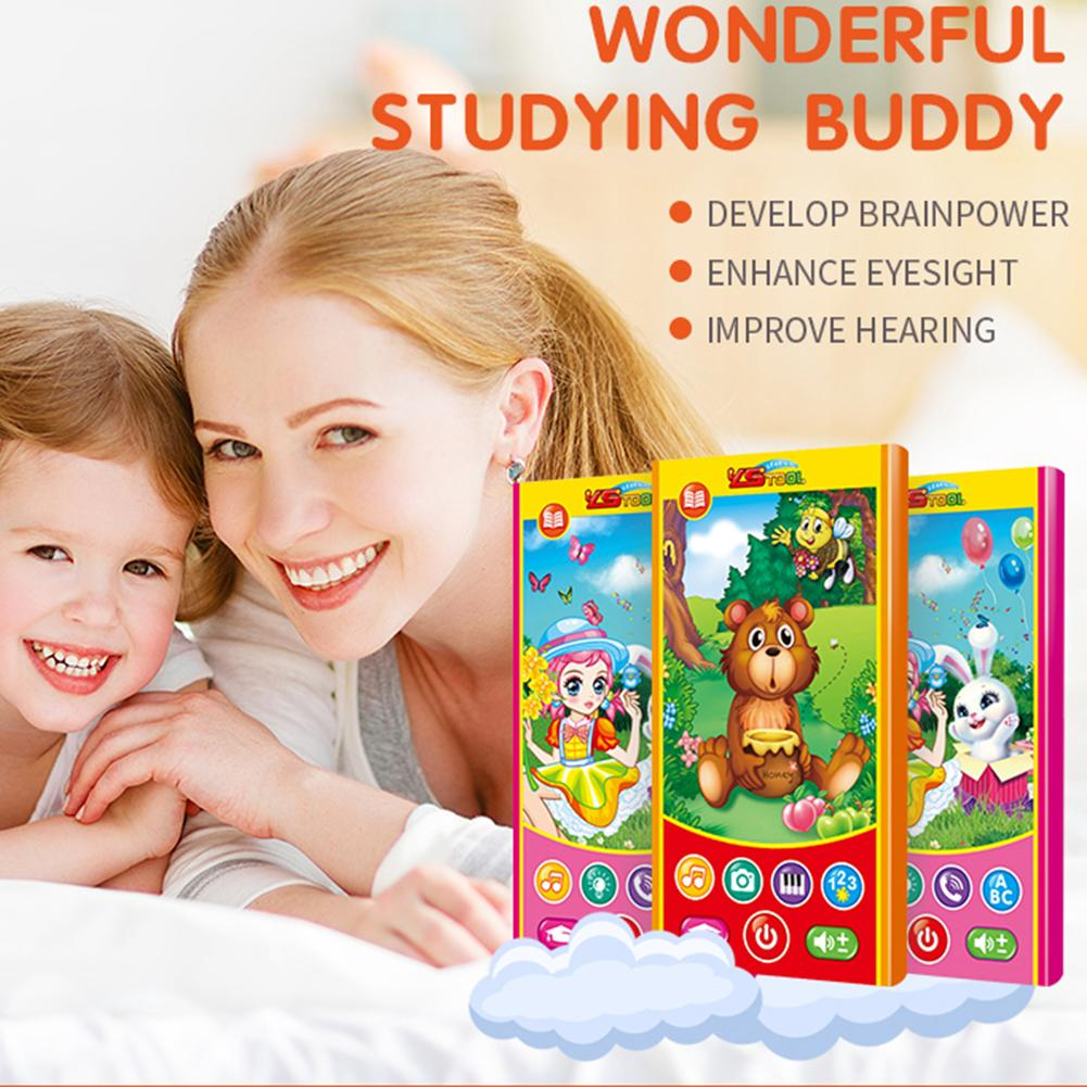 Girl And Bunny Early Childhood Electronic Phone Toy Stories Anti Fall Singing Talking And Telling Baby Music Learning Toy