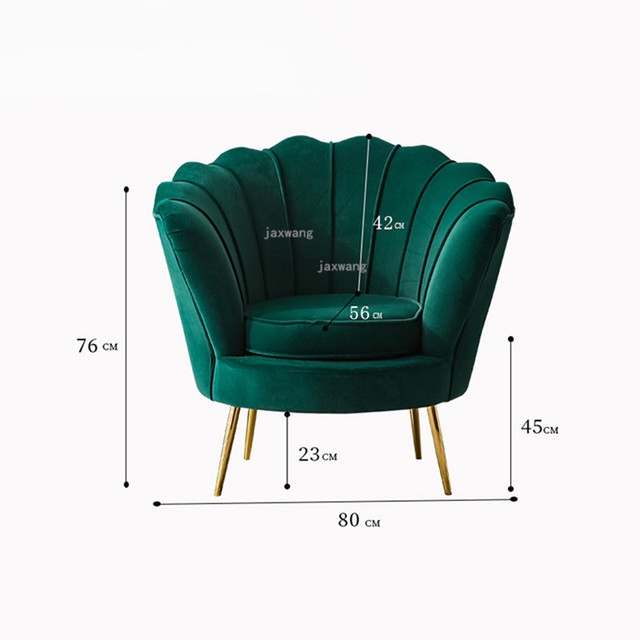 Single Shell Accent Chair 6