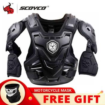 SCOYCO CE zbroja motocyklowa Motocross skrzynia ochrona tyłu kamizelka motocykl kurtka wyścigowy ochronny osłona ciała MX pancerz tanie i dobre opinie CN (pochodzenie) AM07 Gąbka odporna na wstrząsy Full Body Armor Protection Guard Protective Gear Racing Riding Suit