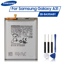 Original samsung bateria EB BA315ABY para samsung galaxy a31 2020 edição a32 substituição genuína autêntica bateria 5000mah ce
