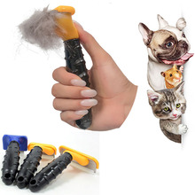 Pet Dog Deshedding Removal Hair Comb For Cat Grooming Brush Tool Clipper Stainless Combs Supplies