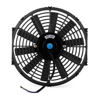 High-power 12-inch car air conditioner water tank electronic fan baler modified car cooling fan refrigerated truck.