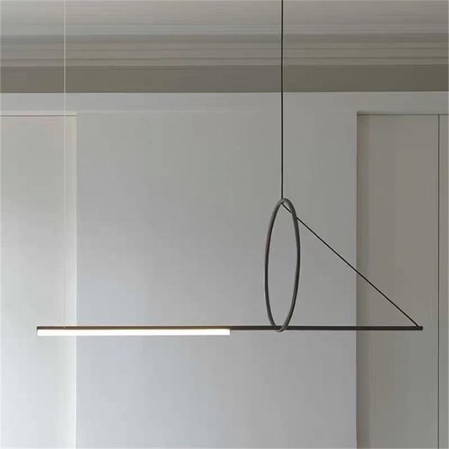 Post modern Pendant lights Simple Iron Art lamp dining room furniture Designer indoor lighting Living Room Decor Light Fixtures
