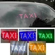 Горячие Распродажа% 21% 21% 21 Такси Светодиод Номер Номер Автомобиль Свет Лобовое стекло Кабина Индикатор Внутри Сигнал Лампа