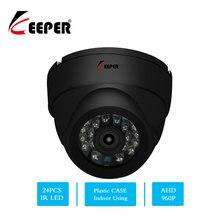 Keeepr 1.3MP HD kamera ahd nadzór kamera na podczerwień 960P ahd kamera cctv bezpieczeństwo wewnętrzne kamery kopułkowe