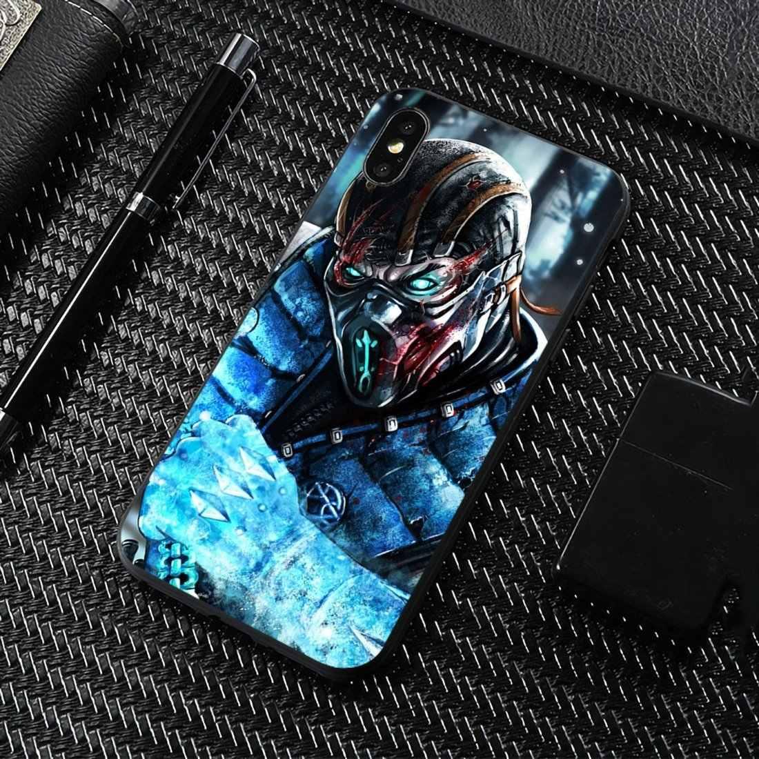 עבור Sony Xperia Z5 XZ XA1 XA2 פרימיום ULTRA 10 X L2 מורטל קומבט רך TPU סיליקון מקרי טלפון סלולרי פגז
