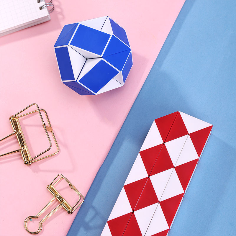 Fun Toys Cube-Stress Puzzles Relief Rainbow 1pcs Strange-Shape img5