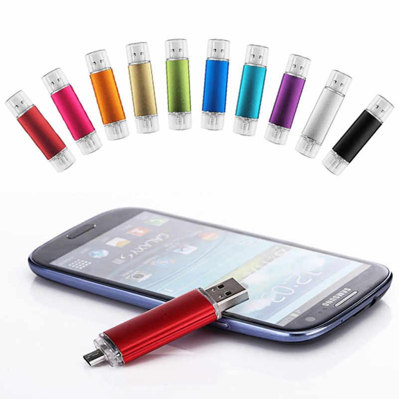Clé USB OTG téléphone intelligent clé USB 128GB 64GB 8GB 16GB 32GB clé USB tablette PC stylo lecteur Micro USB stockage externe