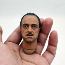 1/6 Scale The Godfather Head Sculpt Marlon Brando Head Carving Model for 12in Action Figure Toy Collection