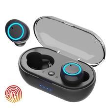 Q2s TWS Bluetooth earphone 5.0 Wireless Headset IPX7 Waterproof Deep Bass Earbuds True Wireless Stereo Headphone Sport Earphones
